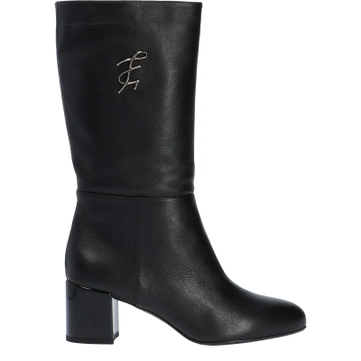 Leather Lorraine ankle boots