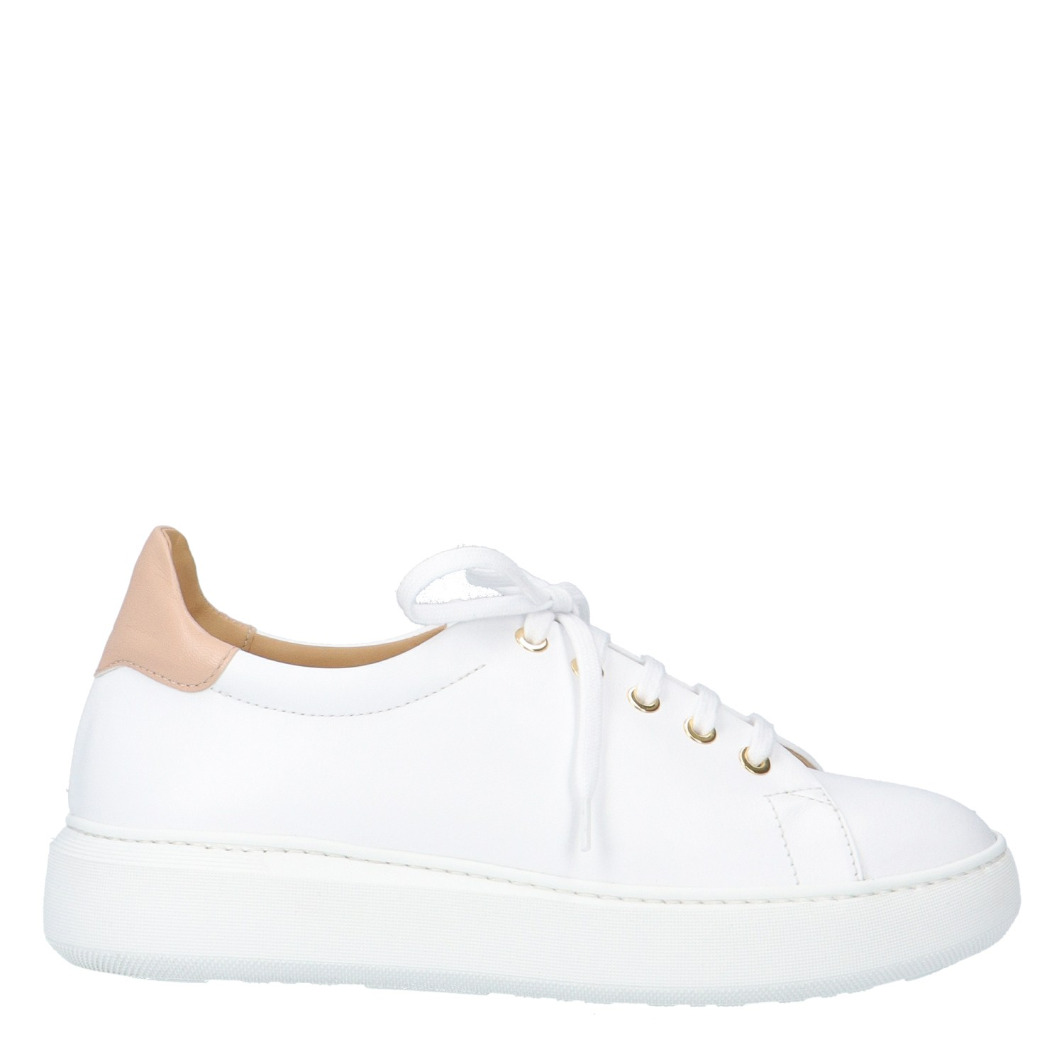 SNEAKERS ALMA 	WHITE LEATHER
