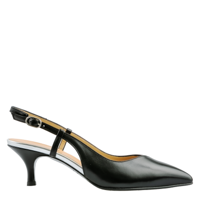 Leather pumps slingback Adele