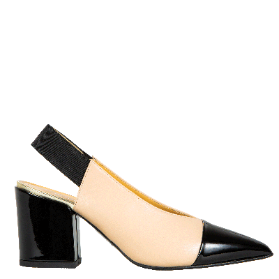Leather pumps slingback Allegra