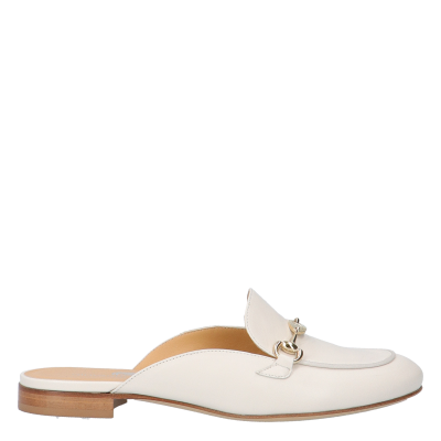 SABOT ALIDA CREAM COLOURED LEATHER