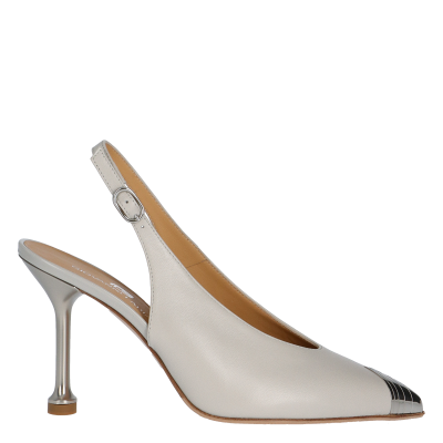 AVE LEATHER SLINGBACK PUMPS, SIZE 37, SAMPLE PRICE