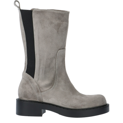 BIKERS TAMI SUEDE BOOTS, SIZE 37, SAMPLE PRICE