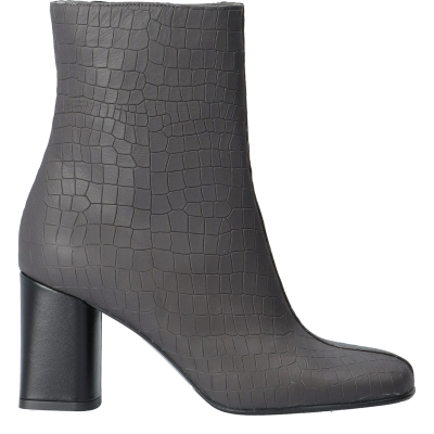 MARINA LEATHER ANKLE BOOTS,  SIZE 37, SAMPLE PRICE