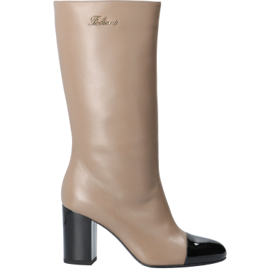 Leather Aude ankle boots